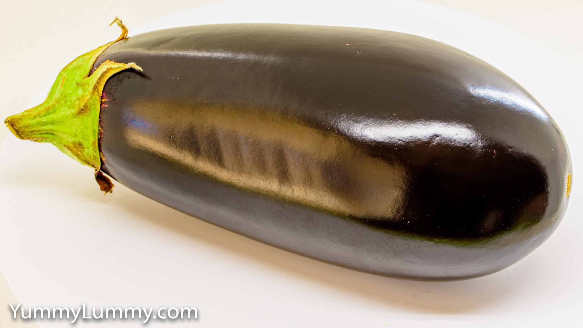 Photograph of an eggplant or aubergine or the 🍆 Gary Lum
