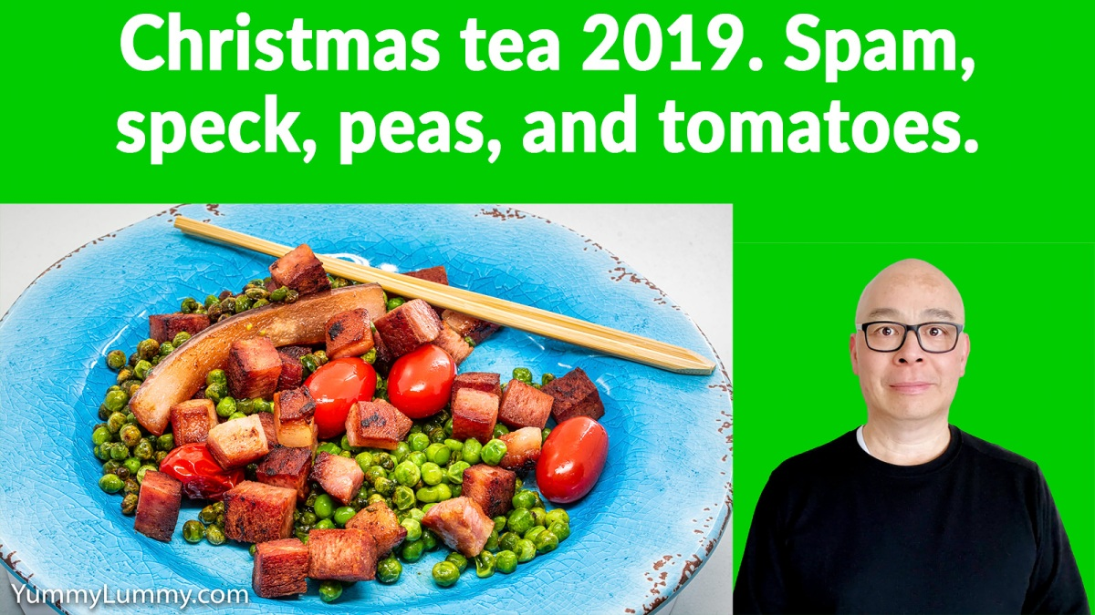 What I ate Christmas 2019