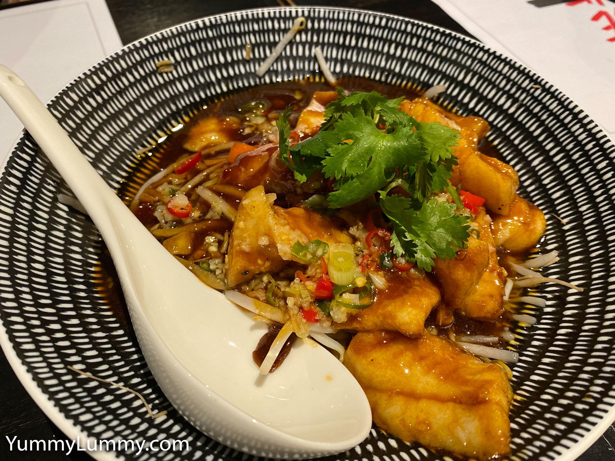 Traditional Sichuan poached fish at Sichuan Papa. Gary Lum.
