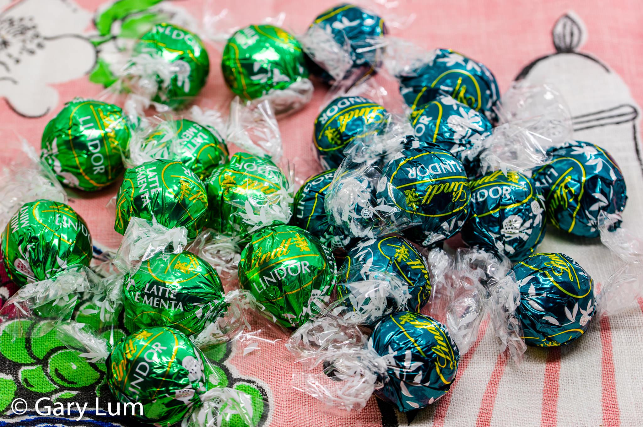 Easter Lindt balls. Gary Lum.