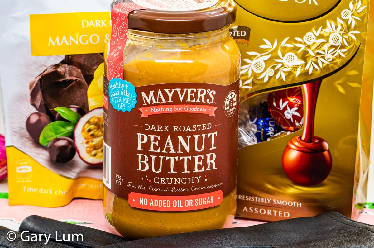 Mayver's dark crunchy roasted peanut paste