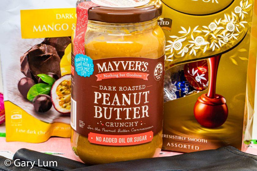 Mayver's Peanut paste Lindt balls