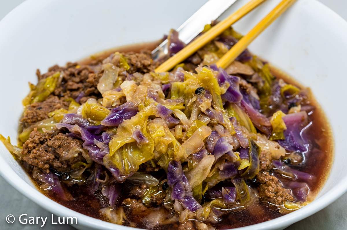 Pressure cooker beef and cabbage