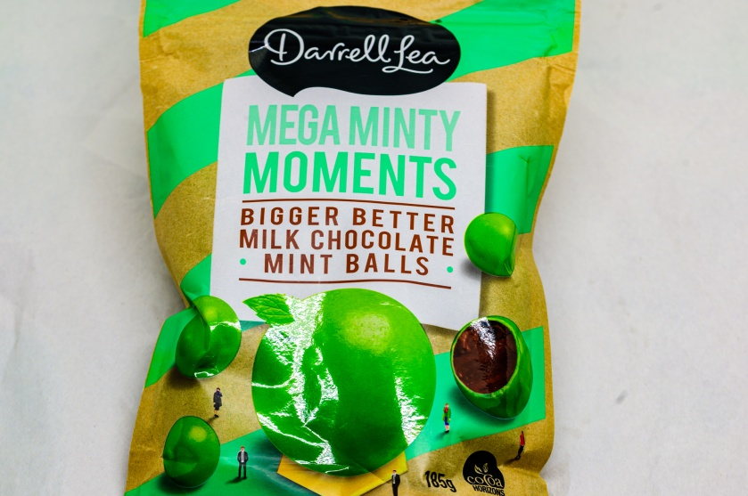 Darrell Lea mega minty moments mint balls