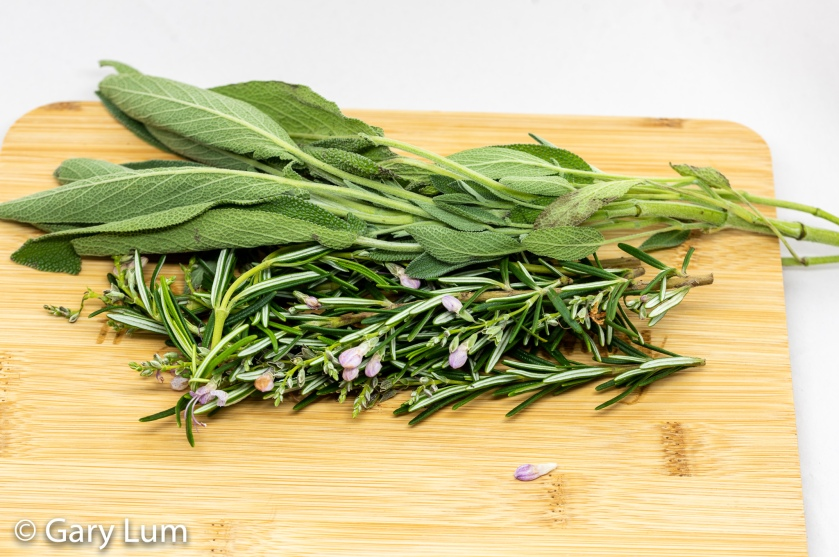 Rosemary and thyme