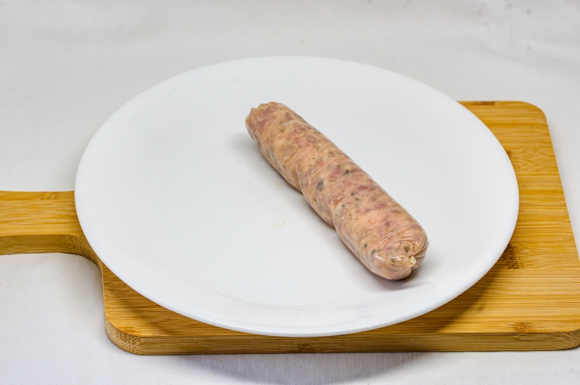 Pork sausage (uncooked)