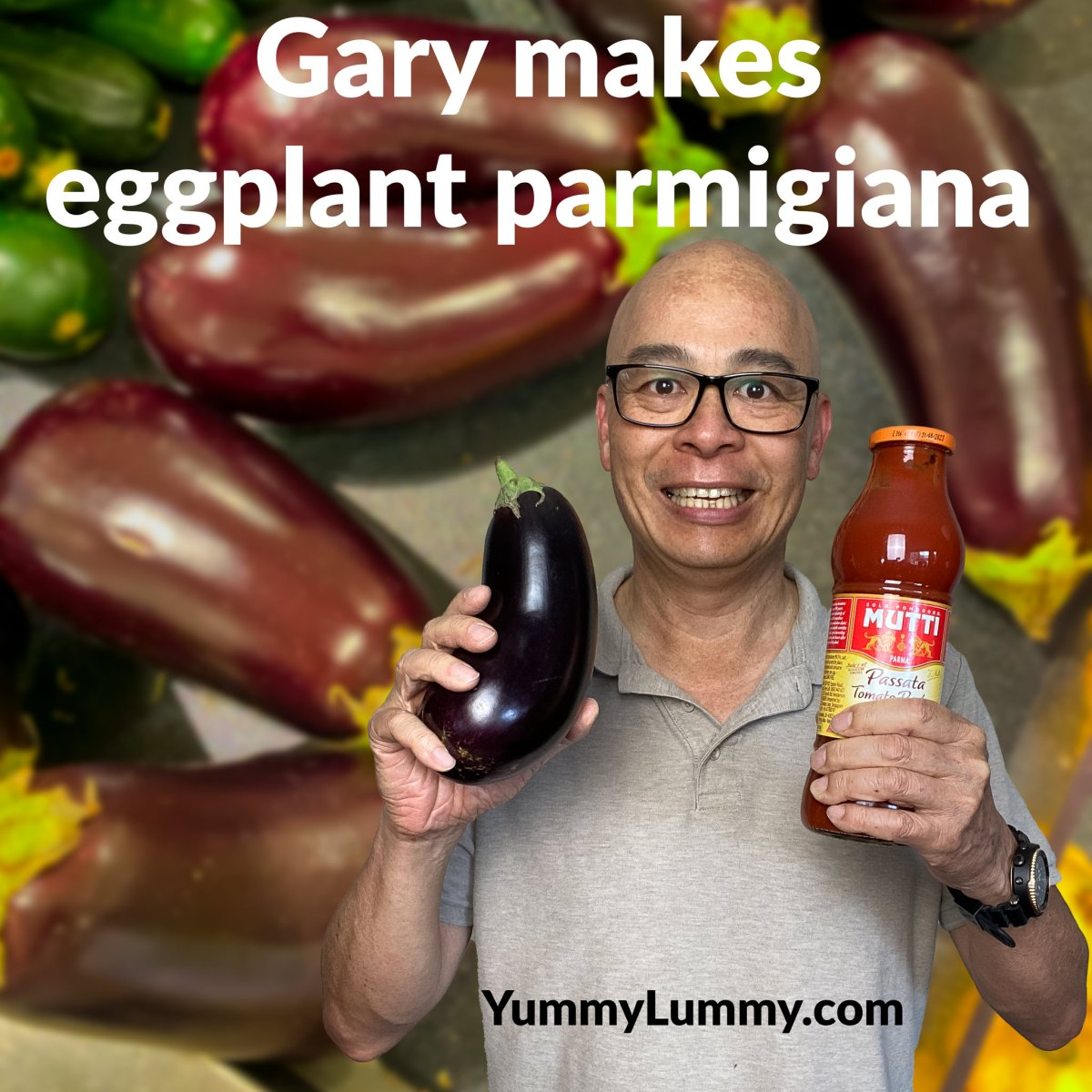 My first eggplant parmigiana experience